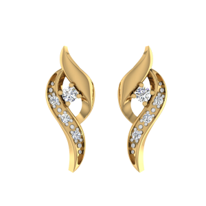 Pop Perfection Diamond Stud Earrings