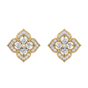 The Blossom Point Diamond Stud Earrings