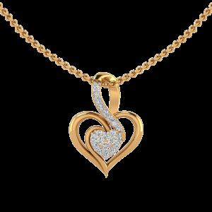 The Heart of Heart Diamond Pendant