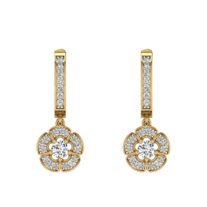 The Hanging Garden Diamond Drop Earrings
