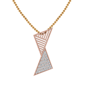 Glitter N Gold Diamond Pendant