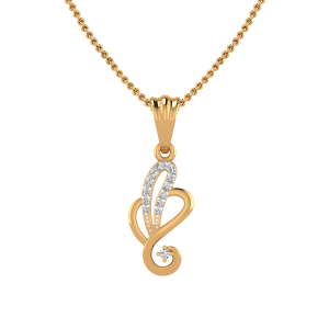 The Lord Ganesha Diamond Pendant