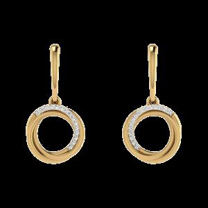 A Touch Of Class Diamond Drop Earrings