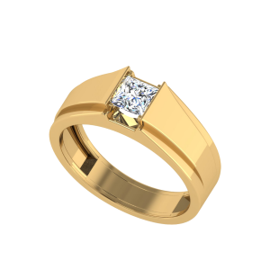 The Paramount Princess Cut Diamond Solitaire Ring
