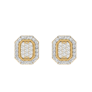 The Entourage Thing Diamond Stud Earrings