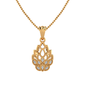 The Bouquet In Style Diamond Pendant