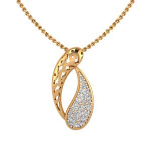 The Boomerang Swing Diamond Pendant