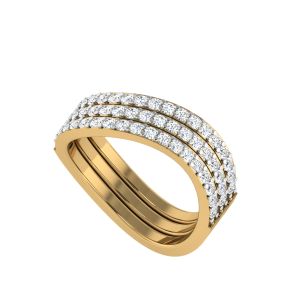 The Stunning Stackable Diamond Ring