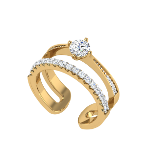 The Moments Solitaire Ring