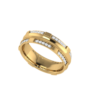 Callisto Shine Diamond Anniversary Band