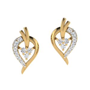 Full Of Traditions Diamond Stud Earrings