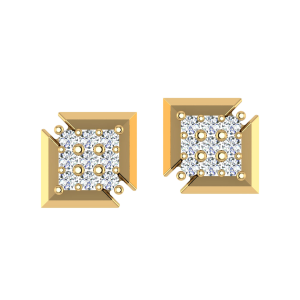 The Imperfectly Perfect Diamond Stud Earrings