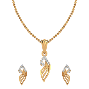 Miss Passion Diamond Pendant Set