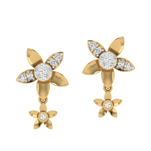 The Perfect Couple Diamond Stud Earrings