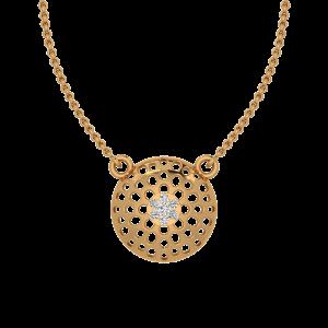 Daisy Glow Diamond Pendant