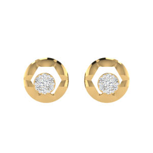 Pleasure N Perfection Diamond Stud Earrings