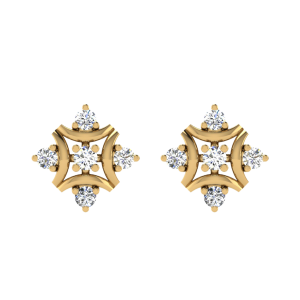 The Classy N Sassy Diamond Stud Earrings
