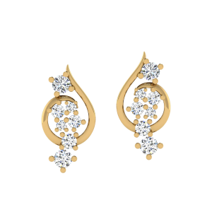 The Eternal Style Diamond Stud Earrings