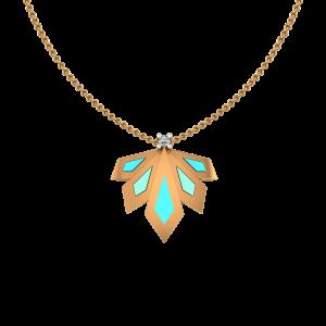 The Fashion Fiesta Gold Diamond Pendant