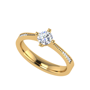 The 4-Prong Cosmos Solitaire Diamond Ring