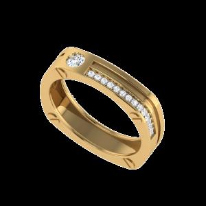 Strike A Pose Diamond Ring