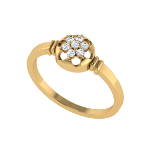 Forever Floral Diamond Cluster Ring