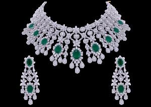 Maharani Emerald & Diamond Necklace