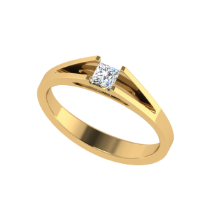 The Foremost Princess Cut Diamond Solitaire Ring
