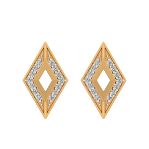 The Paradise View Diamond Stud Earrings