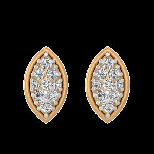 The Diamond Showcase Stud Earrings
