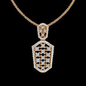 Casual Suave Diamond Pendant
