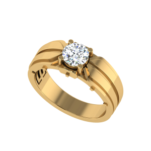 The Ivan Men`s Solitaire Ring