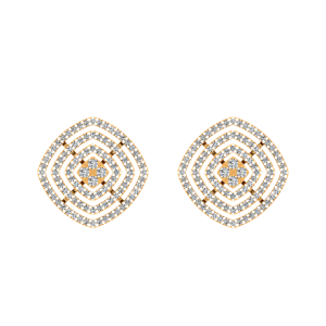 The Show Off Diamond Stud Earrings