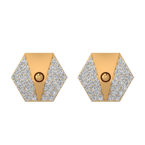 The Designer Retreat Diamond Stud Earrings