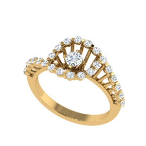 Perfect Rhythm Designer Diamond Ring