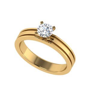 The Best Proof of Love Solitaire Diamond Ring