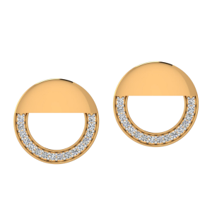 The Bright Smile Diamond Stud Earrings