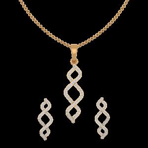 Glow Sprinkles Diamond Pendant Set