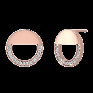 The Bright Smile Diamond Stud Earrings