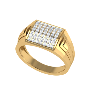 The Triton Men`s Diamond Ring