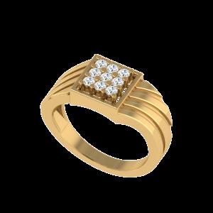 The Vibrant Nine Diamond Ring