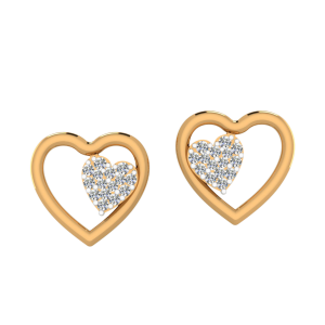 All In Love Diamond Stud Earrings