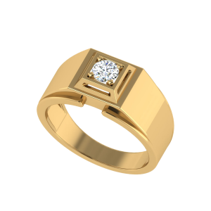 The Richard Men`s Solitaire Ring