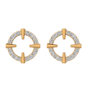 Love Galore Diamond Stud Earrings