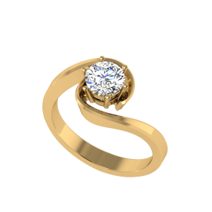 Sixth Sense Solitaire Ring