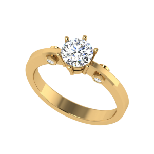 Timeless Sparkle Solitaire Ring