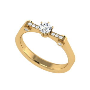 Life`s Spark Solitaire Ring