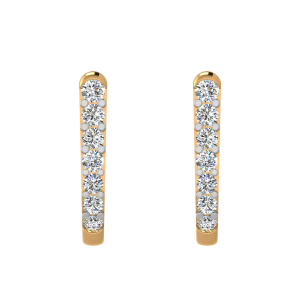 The Lovely Line Diamond Stud Earrings
