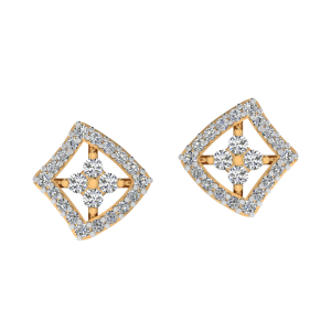 Redefined Beauty Diamond Stud Earrings