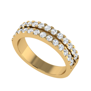 Double Doppio Diamond Ring